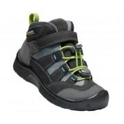 Gyerek cipő Keen Hikeport MID Strap WP C, mágnes / zöld
