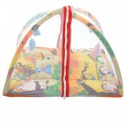 oh baby The Great Indian Baby Play Gym Cum Bedding Set With Free Pillow Mosquito net SE-PG-45