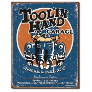 """Sign - Tool'In Hand Garage"""