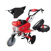 Motosapa ENERGO H75, roti cauciuc, rarita, cilindree 212 cm3, putere nominală 7 CP, greutate: 77 kg, capacitate rezervor: 3.6 L