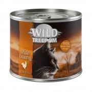 Wild Freedom Adult 6 x 200 g/400 g em promoção: 5 + 1 grátis! - Wide Country - frango puro 6 x 400 g