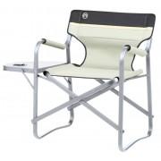 Coleman campingstoel Deck Chair met tafel khaki 2018 Klapstoelen & Vouwstoelen