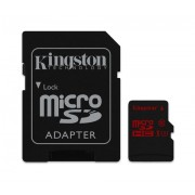 Micro SD Card, 64GB, KINGSTON microSDXC, 1xAdapter, UHS-I Class 3 U3 (SDCA3/64GB)