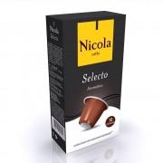 Capsule Nicola Cafes Selecto Aromatico, compatibile Nespresso, 10 capsule
