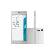 Smartphone Sony Xperia XZ Single Chip Android Tela 5.2 Quad Core 32GB Azul 4G Wi-Fi Câmera 23MP - Prata