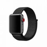 Curea pentru Apple Watch Bibilel compatibil cu dimensiunea 42mm Sport Band Textil Negru BBL490