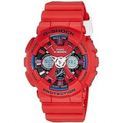 G-Shock Analog-Digital Red Dial Mens Watch - Ga-120Tr-4Adr(G657)