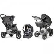 Бебешка комбинирана количка Trio Activ 3 - Dark Grey, Chicco, 2522097