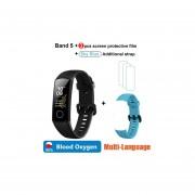 Huawei Honor band 5 banda inteligente AMOLED Huawei reloj inteligente sangre oxígeno corazón furor