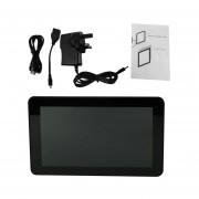 9-pulgadas De Pantalla Táctil Capacitiva De Tablet WIFI Enchufe UK 0.3MP Cámara Trasera Delantera Pad Negro