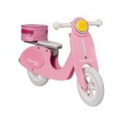 Janod ® Bicicletta in legno senza pedali - Scooter Mademoiselle - rosa / pink