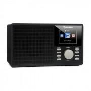 """Auna IR-160, интернет радио, WLAN, USB, AUX, UPNP, 2.8"""" TFT дисплей, дистанционно управление, черно (KC6-IR-160-BK)"""