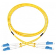 3 Meter Duplex Single Mode UPC LC-LC Fiber Cable Fiber Patch Cord