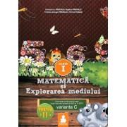Matematica si Explorarea mediului - Clasa I, partea a II-a. Varianta C/Dumitru D. Paraiala