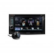 Pantalla Autoestéreo Kenwood DDX320BT Bluetooth DVD USB 6.2 Pulg + Cámara De Reversa