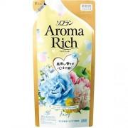 """LION """"Soflan Aroma Rich Fairy"""" Кондиционер для белья с богатым ароматом натуральных масел, сменная упаковка, 430 мл."""