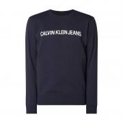 Calvin Sweatshirt mit Logo-Print