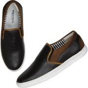Marco Ferro Men's Brown Slip on Smart Casuals Shoes