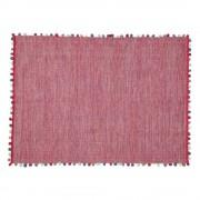 Maisons du Monde Tappeto rosa fucsia in cotone 120 x 180 cm POMPON
