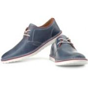 Clarks Manor Hall Corporate Casuals For Men(Red, Blue, White)