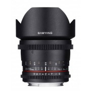 SAMYANG 10mm T3.1 ED AS NCS CS VDSLR - CANON EF - 4 ANNI DI GARANZIA
