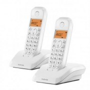 Motorola Trådlös telefon Motorola S1202 (2 st) - Färg: Vit