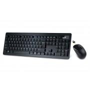 Tastatura+Miš USB Genius SLIMSTAR 8005, Wireless Black-