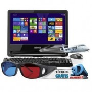 COMPUTADOR PCTV POSITIVO ALL IN CORE i3 4GB RAM HD 500GB HDMI MONITOR 18 Win8