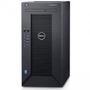 Сървър Dell PowerEdge T30, Intel Xeon E3-1225v5 (3.3GHz, 8M), 8GB 2133MHz UDIMM, 1TB SATA HDD, DVD+/-RW, TPM, PET3002