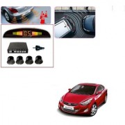 Auto Addict Car Black Reverse Parking Sensor With LED Display For Hyundai Elantra