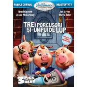 Fabule cu final neasteptat 1: Trei porcusori si un pui de lup / Unstable Fable 1: Three Pigs and a Baby - DVD Mania Film