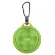 Тонколона Genius SP-906BT Plus, 1.0, 3W, Bluetooth 4.1, до 10м обхват, Micro-USB, зелена
