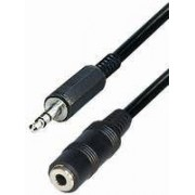 Transmedia A 54-10, Connecting Cable, 3,5 mm stereo plug - 3,5 mm stereo jack, 10m, stereo, shielded