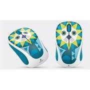Logitech M238 Wireless Mouse - Blue/White