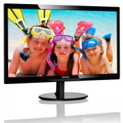 Philips 246V5LDSB, 24' Wide TN LED, 1 ms, 1000:1, 10М:1 DCR, 250 cd/m2, FHD 1920x1080@60Hz, Flicker-Free, D-Sub, DVI, HDMI, Black