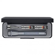 Maglite Mini Incandescent Linterna AAA de 2 celdas, color negro