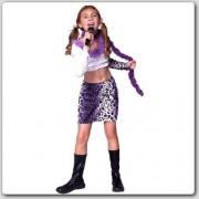 Rg Costumes 19194-S Rock Star - Purple Skirt Costume - Size Child-Small
