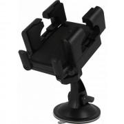Global Technology Gt Supporto Auto Universale Stand A Ventosa Da Parabrezza C36+h25 Black Per Modelli A Marchio Komu