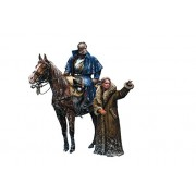 Master Box Models French Cuirassier Napoleonic Wars Series - 2 Figures Set Plus Horse Model Kit 1 32 Scale