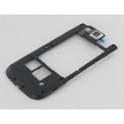 Samsung Galaxy S III (S3) GT-I9300 Middle Cover Zwart/Blauw voor Samsung Galaxy S3 i9300