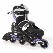Osprey Inline Skates Meisjes Verstelbaar Zwart Maat 31 33