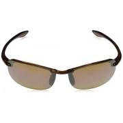 Maui Jim Makaha Reader anteojos de sol de lectura rectangulares, color bronce, polarizadas, tamaño mediano + 1,5