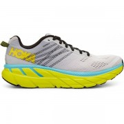 Hoka One One Clifton 6 Men - Male - Wit / Geel - Grootte: 42