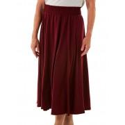 Seniors' Wear Rasberry Elastic Waist Skirt
