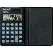 Calculator de buzunar, 8 digits, 100 x 62 x 8 mm, capac din plastic, Rebell SHC208