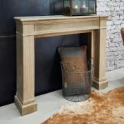 LOBERON Console de cheminee Brandwood