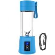 pinaaki SDD Portable Electric Fruit Juicer Maker/Blender USB Rechargeable for the Kitchen, Gym, Yoga Class, Hiking, Camping, Office, Travelling, Outdoor Sports Juicer Mixer Grinder (BLUE) 300 Juicer Mixer Grinder(Blue, 1 Jar)