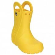 Crocs Kids Rainboot Stivali di gomma (J3, arancione)