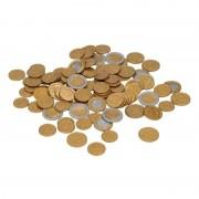 Geen Speelgoed euro munten 100 stuks