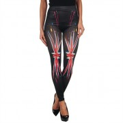 INTIMAX PAINTED LEGGING UK BLACK S/M